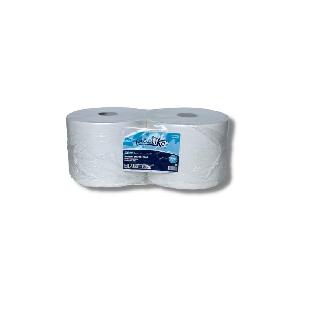 Bobina papel secamanos práctiko 2 uds