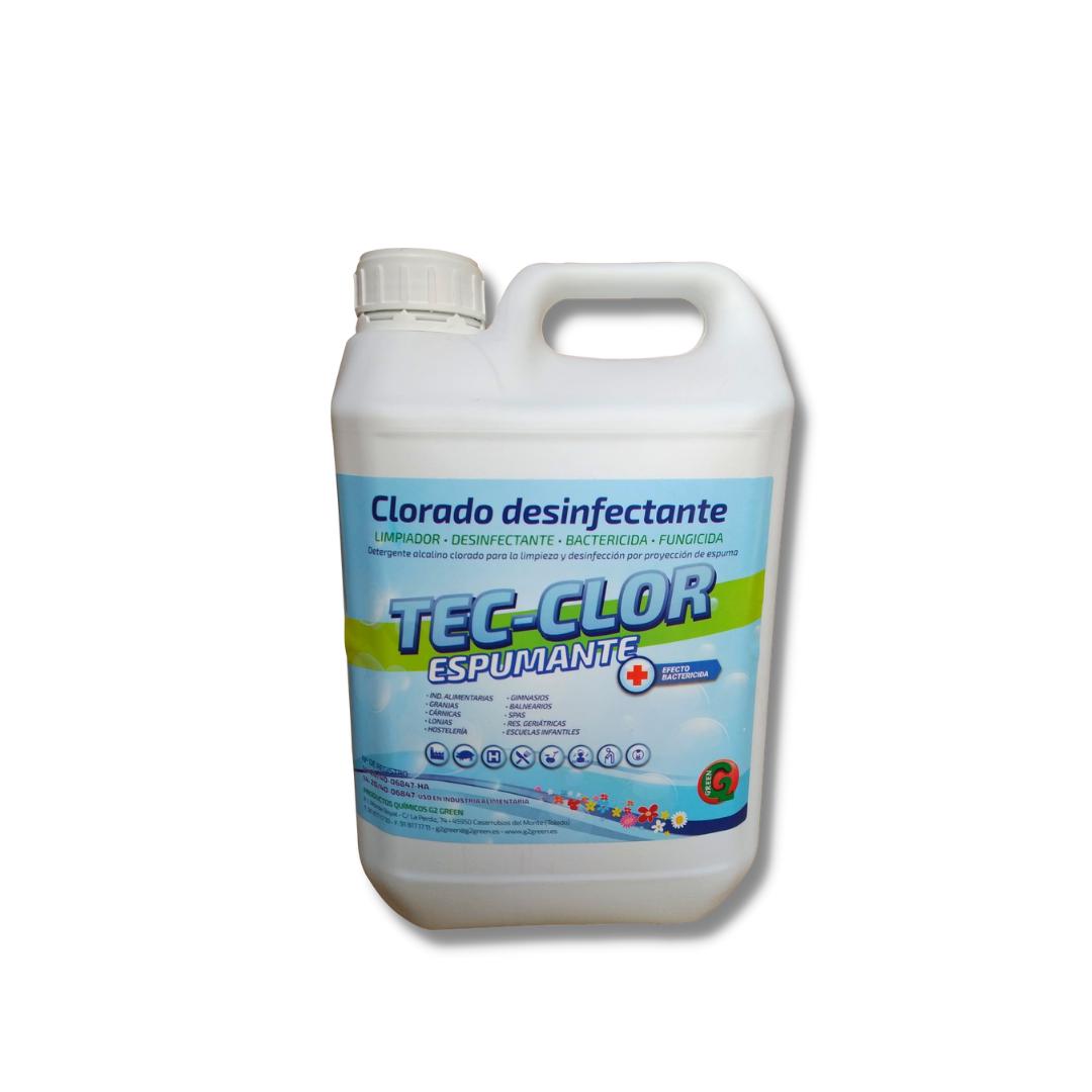 tec clor desinfectante detergente alcalino Málaga
